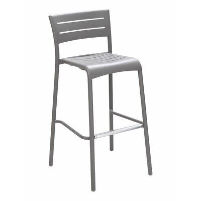 Florida Seating Bar Stool Frame Warm Gray