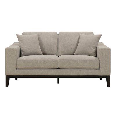 Elle Decor Loveseat Upholstery Linen