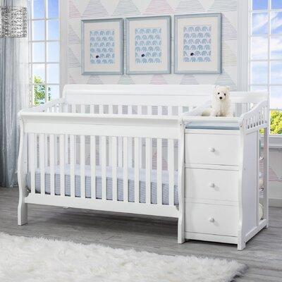 Delta Children Junction Convertible Crib Changer Combo