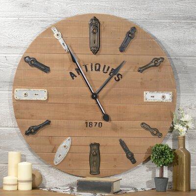 American Mercantile Key Hole Wall Clock