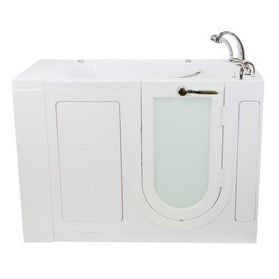 Hydro Massage Heated Seat Whirlpool Bathtub Fast Fill Faucet Set