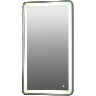 Ebern Designs Led Ring Light Accent Mirror