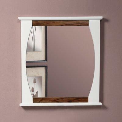 Decolav Accent Mirror Black Limba White Gloss
