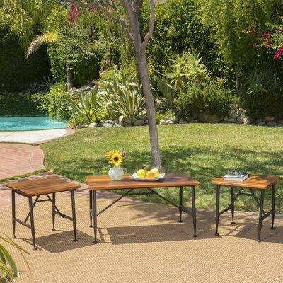 Wood Coffee Table Set 5273 Product Image