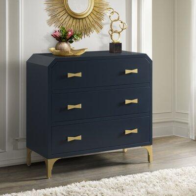 Willa Arlo Interiors Corner Drawer Chest Clip Chests Cabinets