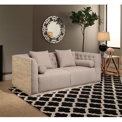 Willa Arlo Interiors Wood Chesterfield Sofa Fabric Sofas