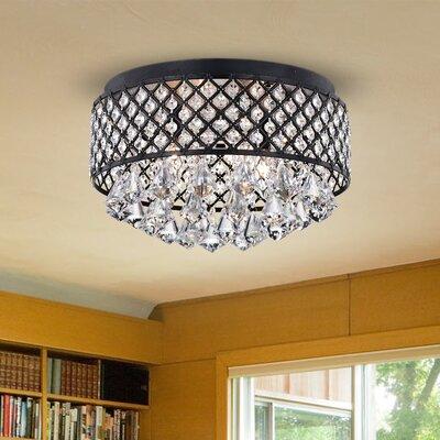 Willa Arlo Interiors Led Flush Mount Light Lighting