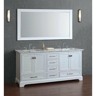 Sink Bathroom Vanity Set Mirror Double 18755 Product Image