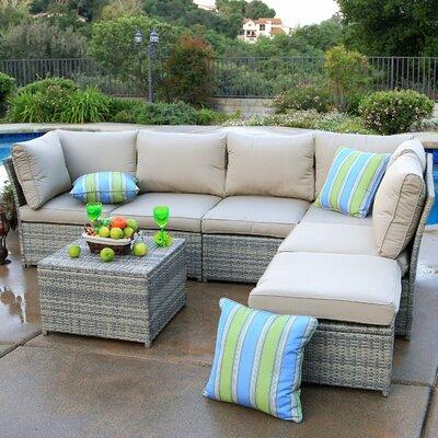 Mercury Row Deep Seating Group Cushions Rattan Conversation Sets