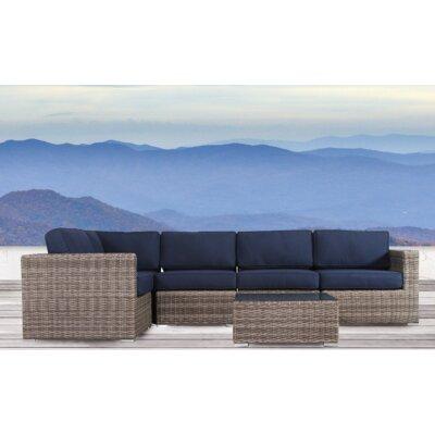 Longshore Tides Seating Group Sunbrella Cushions Sectional Conversation Sets