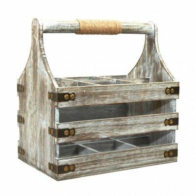 Gracie Oaks Prall Wooden Bottle Tabletop Wine Rack Product Photo