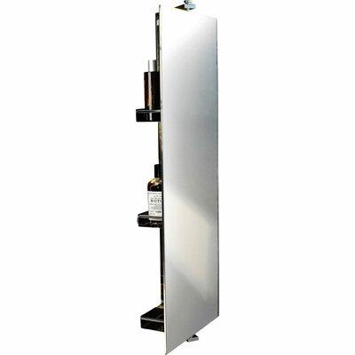 Latitude Run Degree Rotating Wall Mounted Cabinet