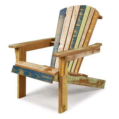 Highland Dunes Solid Wood Adirondack Chair Reclaimed Adirondack Chairs