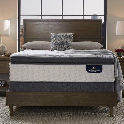 Serta Plush Pillow Mattress Box Spring Sleeper Mattresses