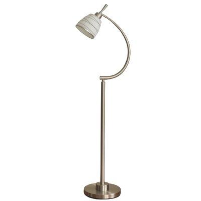 Orren Ellis Metal Floor Lamp Floor Lamps