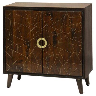 Bloomsbury Market Pattern Door Cabinet Geometric Chests Cabinets