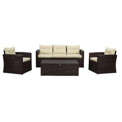 Highland Dunes Humble Sofa Set Cushions