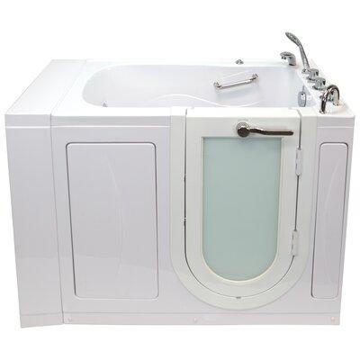 Hydro Massage Microbubble Heated Seat Whirlpool Bathtub