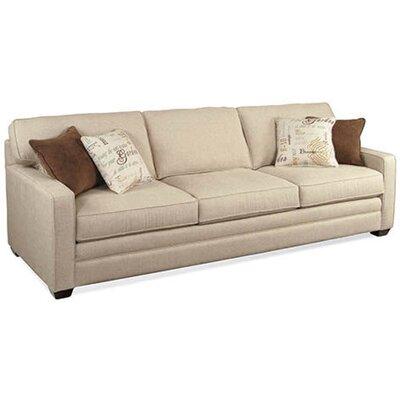 Braxton Culler Park Estate Sofa Vintage Wood Upholstery