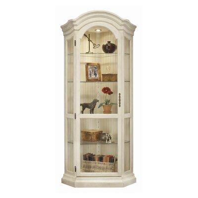 Darby Home Curio Cabinet Corner Display Cabinets