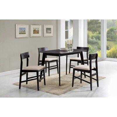 Wrought Studio Wooden Dining Set