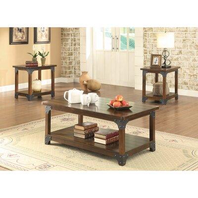 Williston Forge Amazingly Craftsman Designed Coffee Table Set