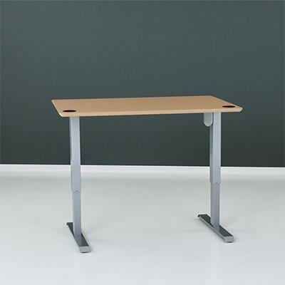 Latitude Run Adjustable Standing Desk Silver
