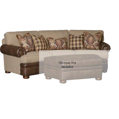 Fleur De Lis Living Sofa Upholstery Southpaw Caramel Palance Tobaco
