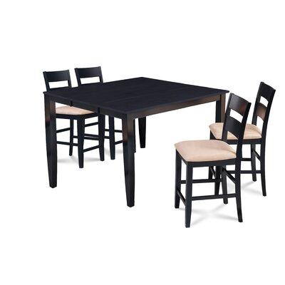 Charlton Home Almodovar Extendable Wood Dining Set