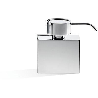 Latitude Run Countertop Pump Soap Lotion Dispenser Chrome