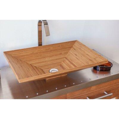 Agm Home Store Handmade Rectangular Bathroom Sink