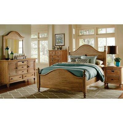 August Grove Panel Bedroom Set Queen
