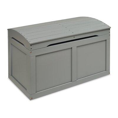 Viv Rae Barrel Top Toy Box Gray