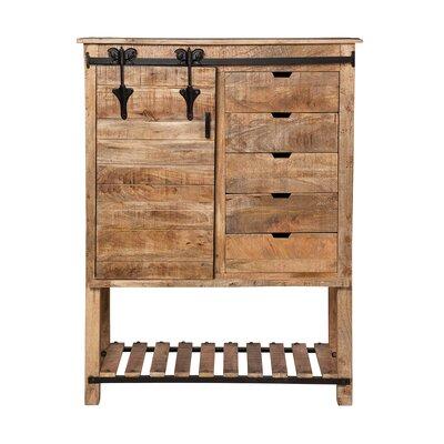 Gracie Oaks Restoration Kitchen Storage Door Accent Cabinet