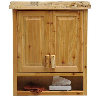 Fireside Lodge Cedar Wall Mounted Cabinet Product Photo