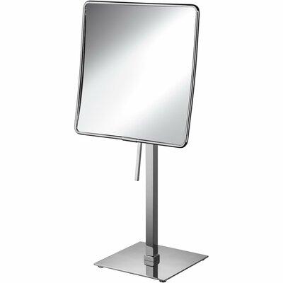Latitude Run Square Single Sided Makeup Shaving Mirror Magnification