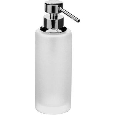 Mercer41 Frosted Glass Table Pump Soap Lotion Dispenser Mercer