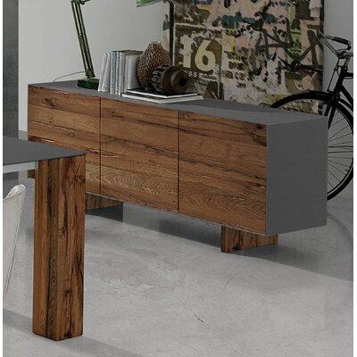 Thin Sideboard Wild Oak