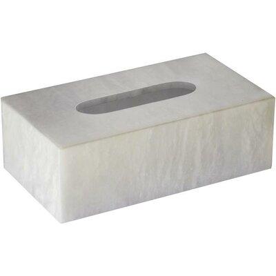 Latitude Run Alabaster Case Tissue Box Cover