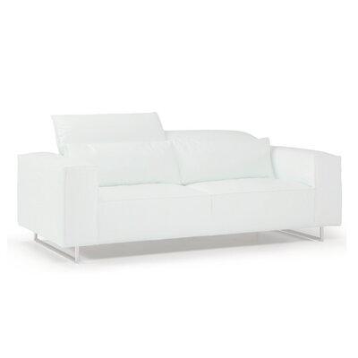 Bellini Leather Sofa Leather White