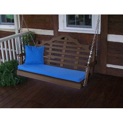 Red Barrel Studio Porch Swing Tudorbrown
