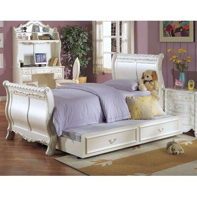 Harriet Bee Sleigh Bed Trundle