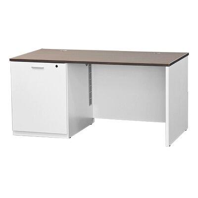 Symple Stuff Instructors Writing Desk White Orientation Right