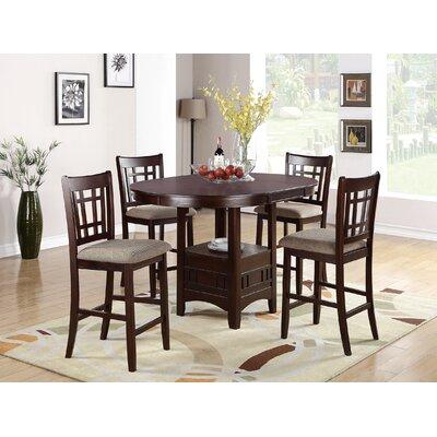 Red Barrel Studio Extendable Wood Dining Set