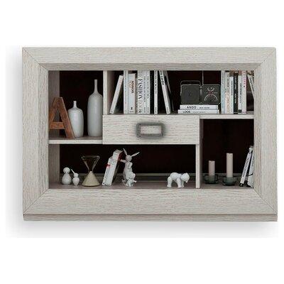 Brayden Studio Geometric Bookcase Matte