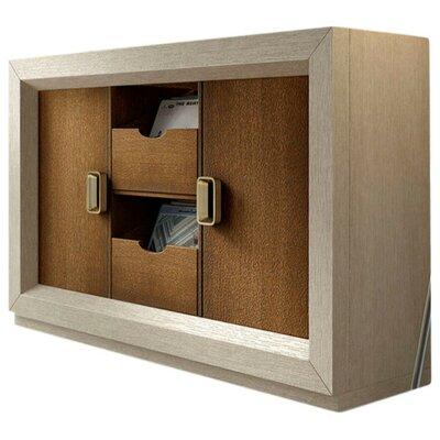 Brayden Studio Vinyl Record Accent Cabinet