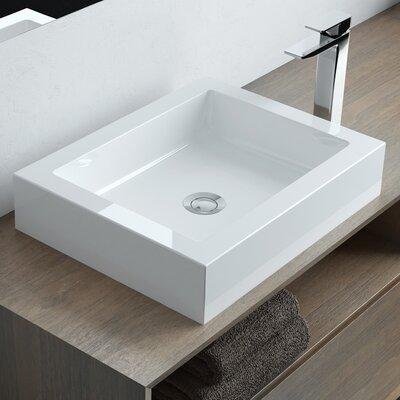 Calma Rectangular Bathroom Sink