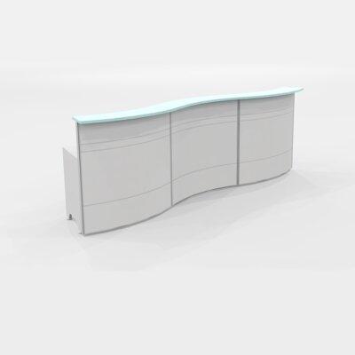 Italy Rectangular Reception Desk