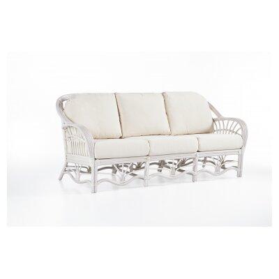 Bay Isle Home Sofa Upholstery Grasmere Cocoa White