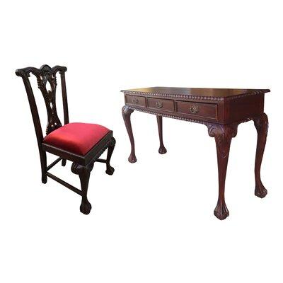 D Art Writing Desk Chair Set Art Collection